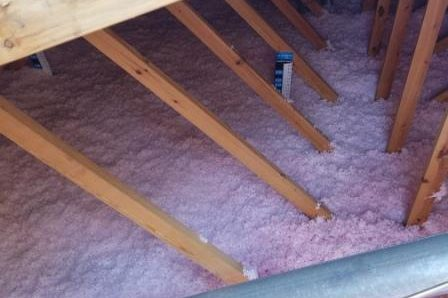Garage attic Insulation Upgrades – Westmont