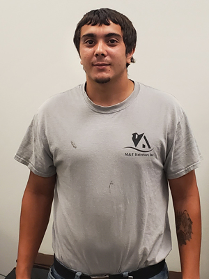 Brandon Carlomango, Service Technician